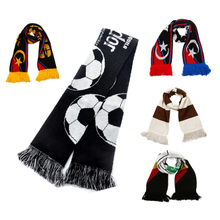 Custom Knitted Soccer Scarf