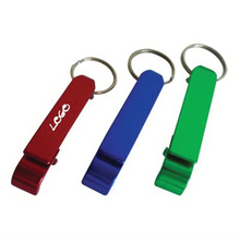 Aluminum Bottle Opener Custom Keychains