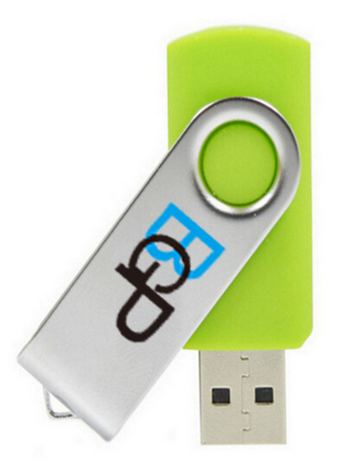 USB Wholesale Swirling Flash Drive 4G