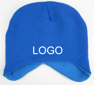 Winter Beanie With Fleece Lining For Adult
