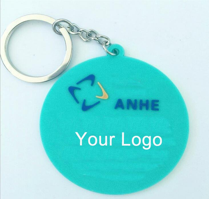 Imprinted Custom Soft PVC Keychain