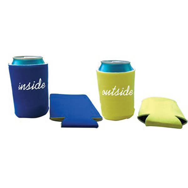 Promotional Reversible Custom Logo Koozie Can Cooler