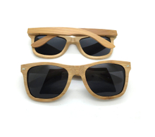 Custom Logoed Imprinted Fashion Wooden Bamboo Sunglasses