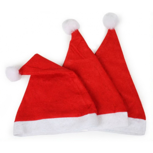 Promotional Custom Children's Christmas Santa Hat with Logo