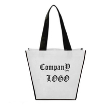 Customized Recycled Non-woven Folding Shopping Bag