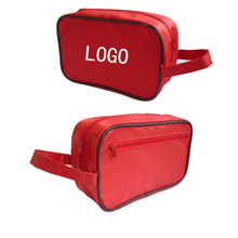 "Promotional Custom Cosmetic Travel Bag - 10 "" x 6 "" x 4 """