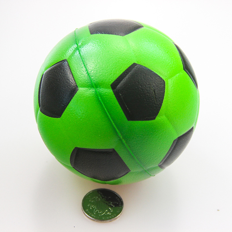 4 inch Soccer Ball Shape Stress Reliever