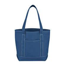 Reinforced Print Canvas Tote Bag