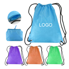 Foldable Waterproof Drawstring Backpacks
