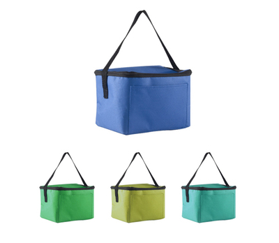 210 Denier Polyester Cooler Bag With Front Pocket