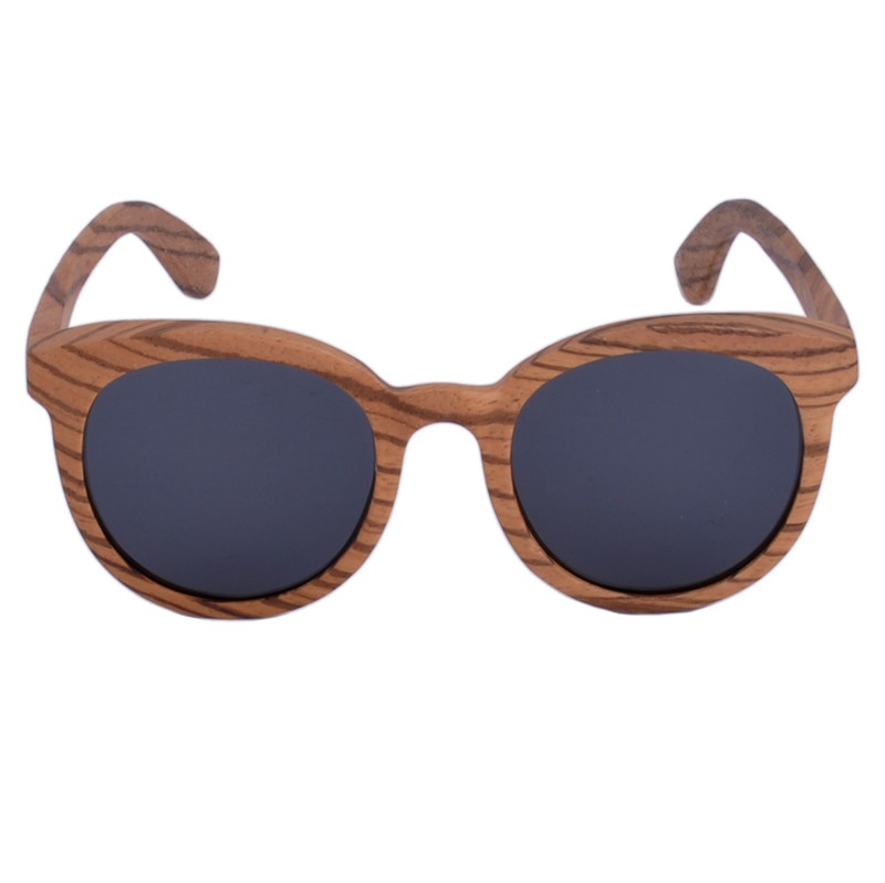Personalized Zebra Wooden Sunglasses
