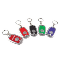 LED Flashlight Keychain Key Ring