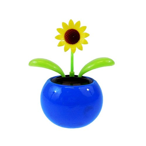 Solar Dancing Sunflower Animal For Car
