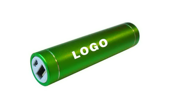 Cylindrical Portable Power Bank