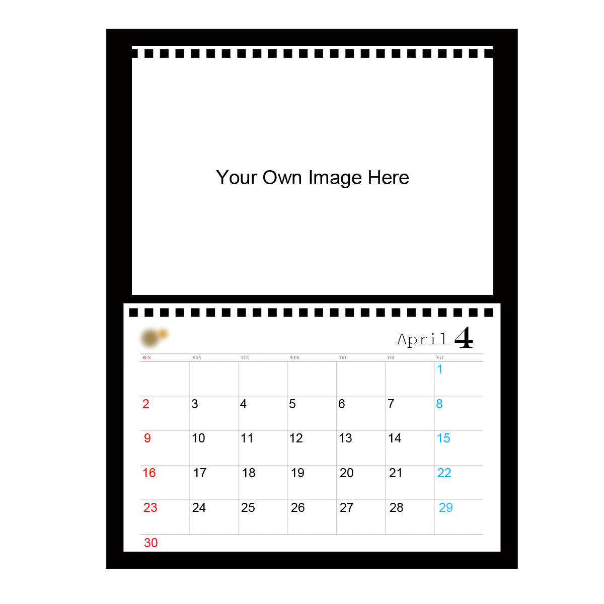 Creat Your Own 2017 Desk Pad Calendar