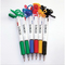 Two-Color Ink Ballpoint Pen With Neck Strap