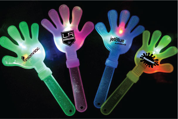 Cheering LED Hand Shaped Clapper