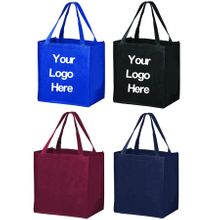 Print Large Non-woven Economy Grocey Tote